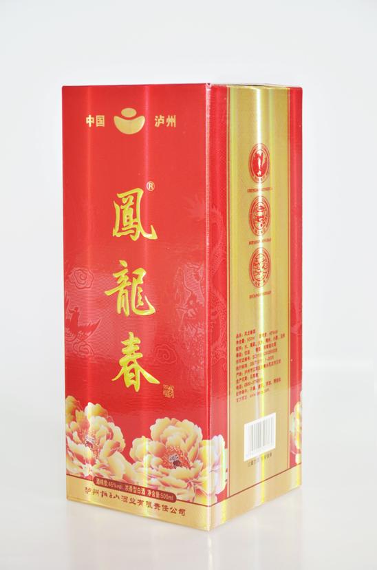四川白酒品牌凤龙春酒(清装)——对标八大名酒